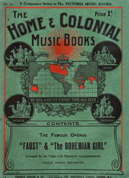 20 - Home and Colonial Music Books