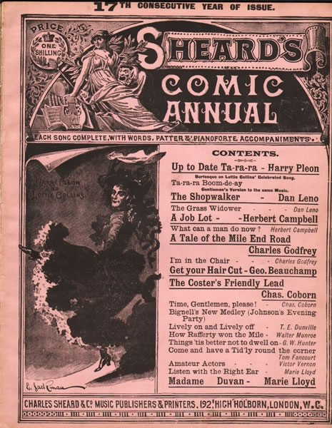 25 - Comic and Variety Albums