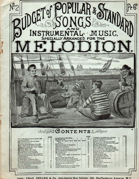 31 - Budget of Popular and Standard Songs - Melodian, Mandolin and Violin