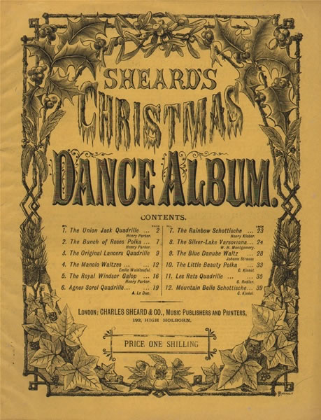 8 - The Celebrated 1/- Dance Albums for pf.
