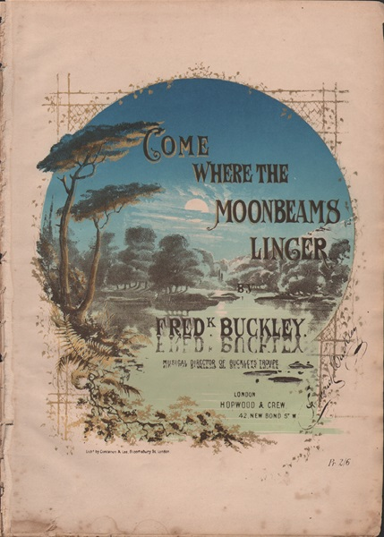 Come where the Moonbeams Linger - song