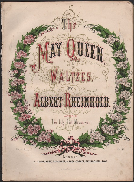 The May Queen Waltzes - pf.