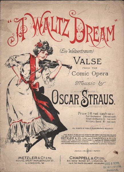 A Waltz Dream - pf.