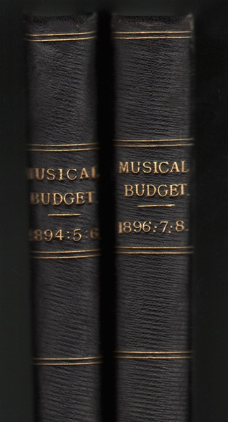 7 volumes of the Musical Budget - Nos.172-346