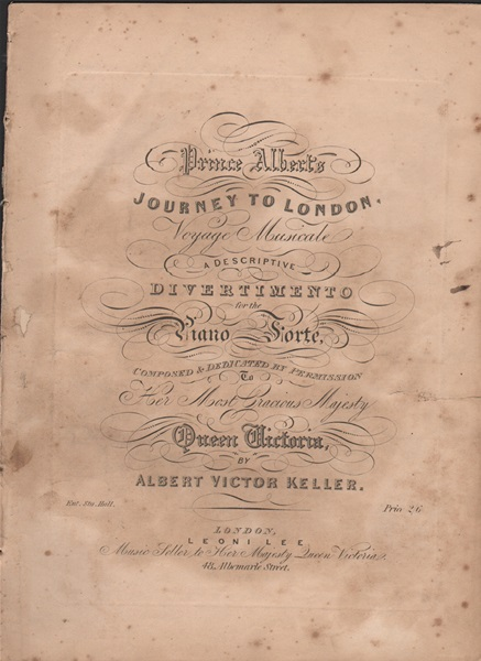 Prince Albert's journey to London - pf.