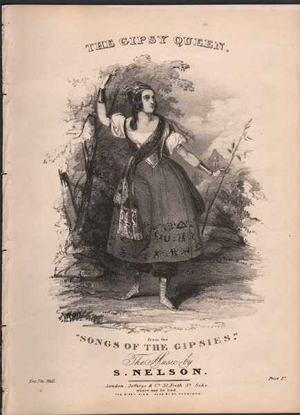 The Gipsy Queen - from 'Songs of the Gipsies'
