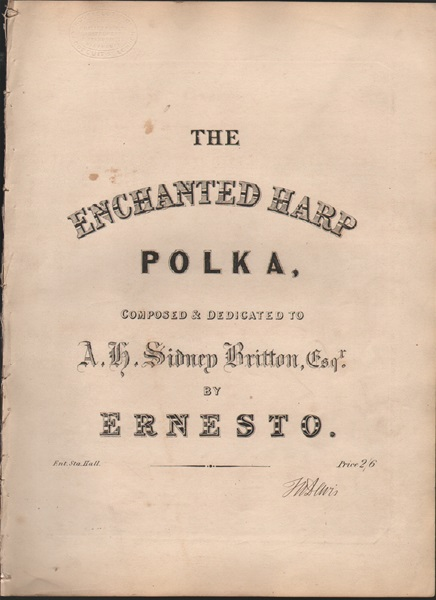 The Enchanted Harp - Polka