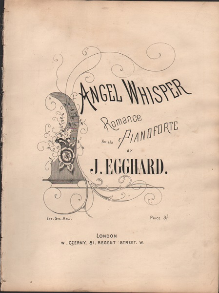 Angel Whisper - pf. Romance