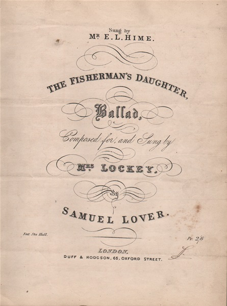 The Fisherman's Daughter - Ballad