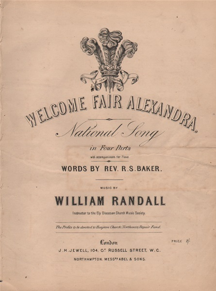 Welcome fair Alexandra - 4 pt.vcl./pf.