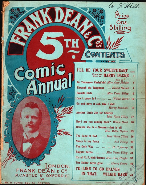 Frank Dean & Co's 5th. Comic Annual