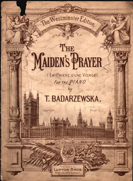 The Maiden's Prayer - pf.