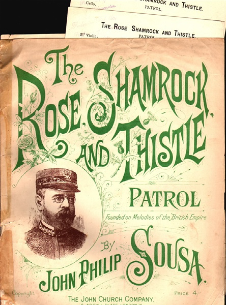 The Rose Shamrock and Thistle Patrol - pf./vl./vcl.