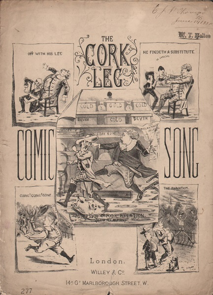 The Cork Leg - Comic song