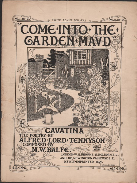 Come into the Garden Maud - Cavatina