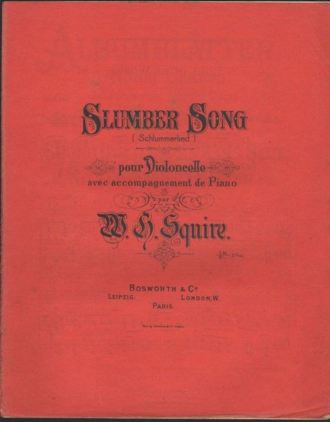 Slumber Song - vcl./pf.