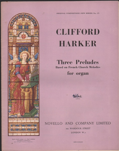 Three Preludes for Organ