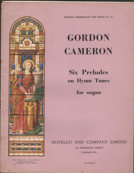 Six Preludes on Hymn tunes - Organ