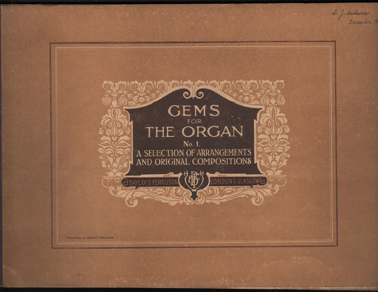 Gems for the Organ - No.1