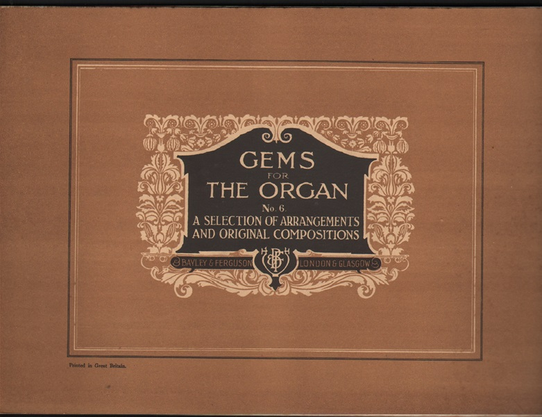 Gems for the Organ - Bk.6