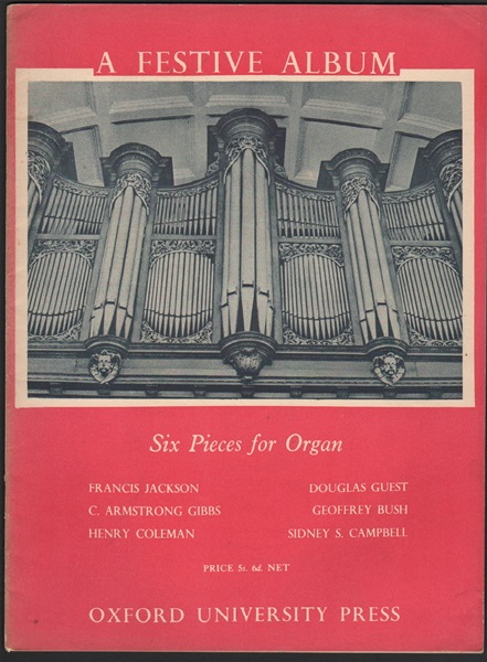 Six Pieces for Organ