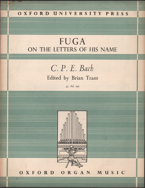 Fuga on the letters of his name - Organ