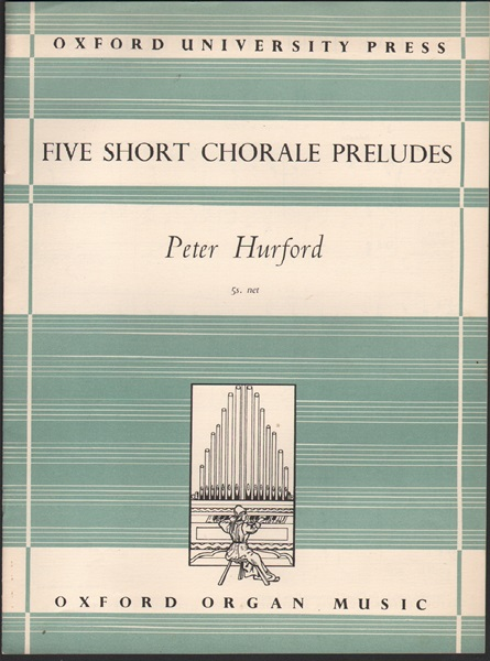 Five Short Chorale Preludes - Organ