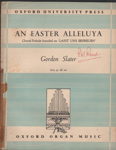 An Easter Alleluya - Organ