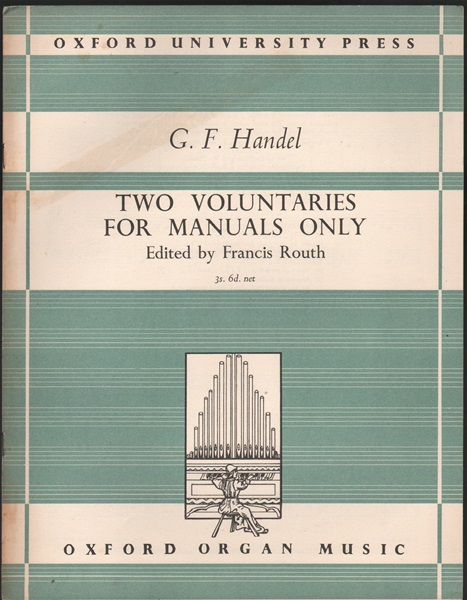 Two Voluntaries-Manuals only