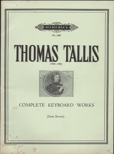 Tallis- complete keyboard works