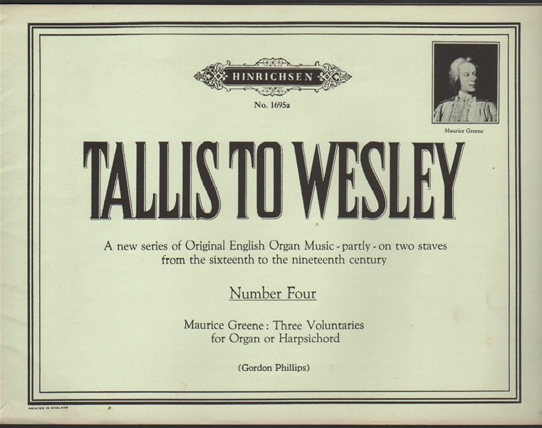 Tallis to Wesley - No.4 for Organ