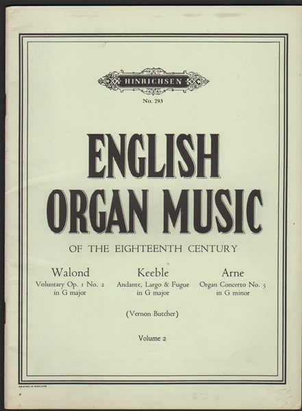 English Organ Music - Vol.2