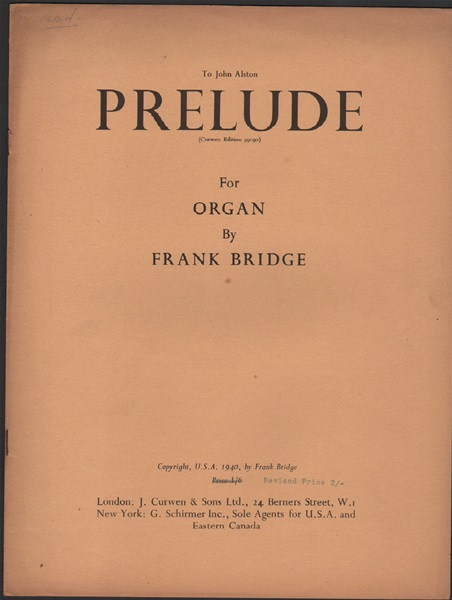 Prelude for Organ