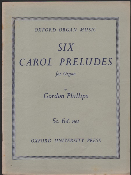 Six Carol Preludes for Organ