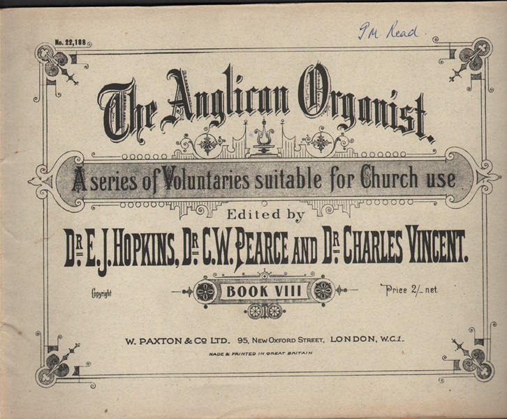 The Anglican Organist - Bk.8