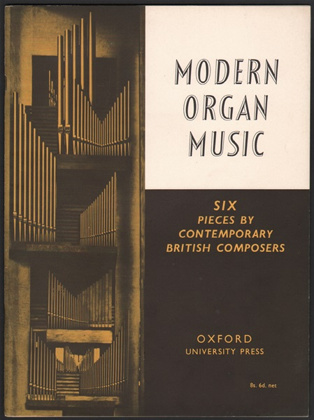 Six pieces by Contemporary Composers - Organ