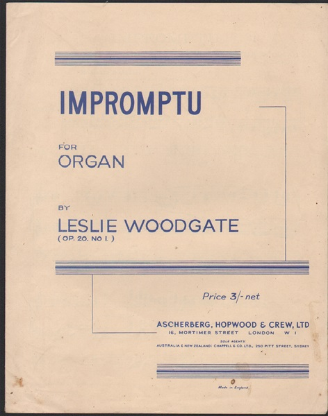 Impromptu for Organ