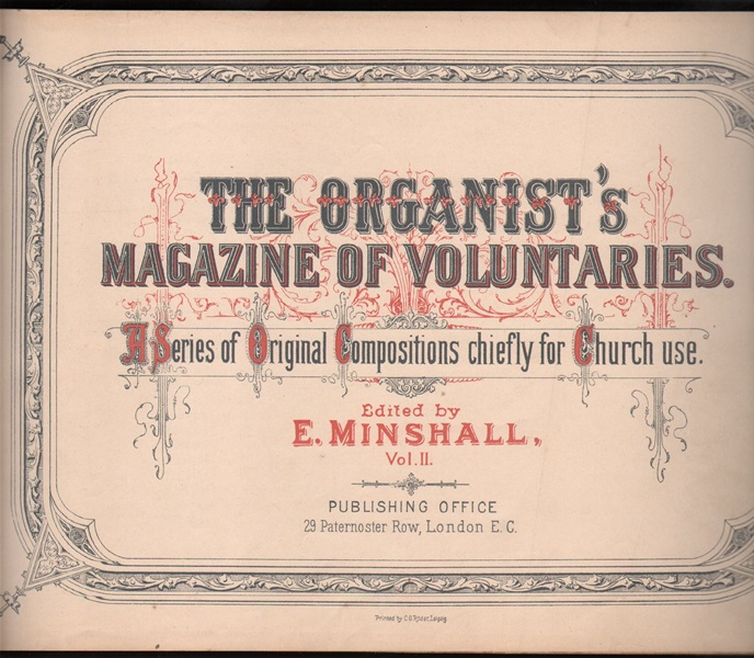 The Organist's Magazine - Vol.2