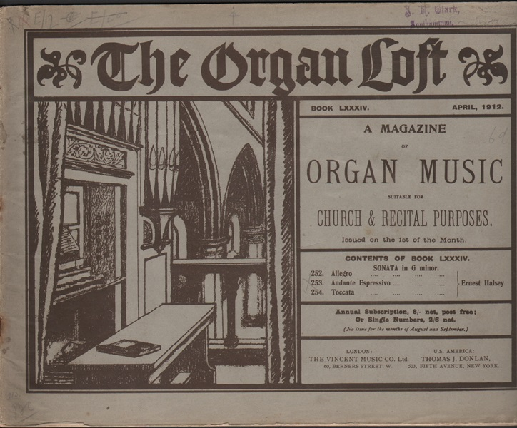 The Organ Loft - Book84