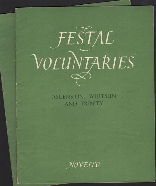 Festal Voluntaries - 2 bks. - Organ
