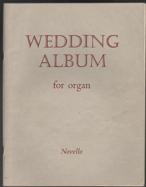 Wedding Album - for Organ