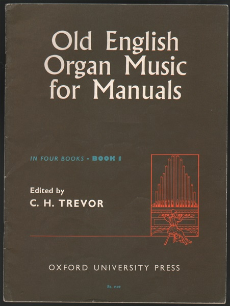 Old English Organ Music for Manuals - Book 1