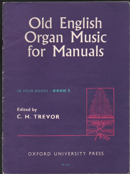Old English Organ Music for Manuals - Book 2