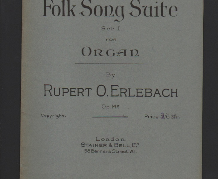 Folk Song Suite - Set 1 for organ