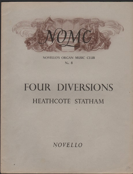 Four Diversions - Organ