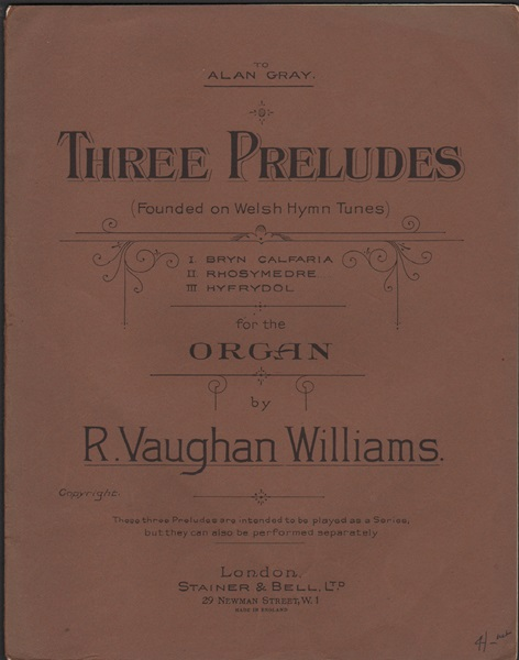 Three Preludes - for Organ