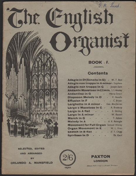The English Organist - Bk.1