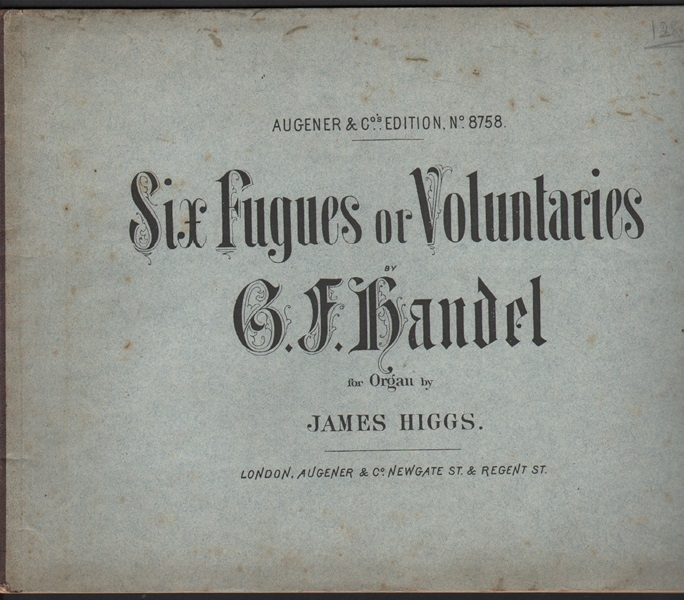 Six Fugues or Voluntaries - Organ