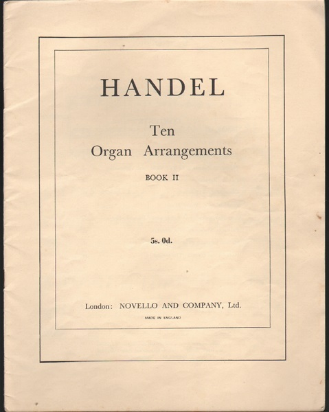 Ten Organ Arrangements- Bk.2