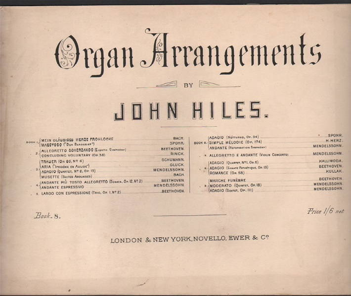 Organ Arrangements